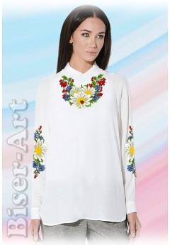 Заготовка вишиванки Жіночої Сорочки для вишивки бісером(вишивки хрестиком) Г (SZ57)