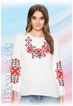 Заготовка вишиванки Жіночої Сорочки для вишивки бісером(вишивки хрестиком) Г (SZ62)