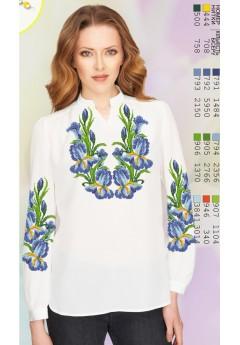 Заготовка вишиванки Жіночої Сорочки для вишивки бісером(вишивки хрестиком) Г (SZ74)