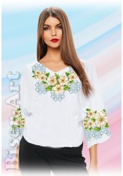 Заготовка вишиванки Жіночої Сорочки для вишивки бісером(вишивки хрестиком) Г (SZ81)
