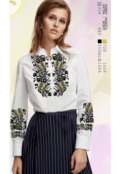 Заготовка вишиванки Жіночої Сорочки для вишивки бісером(вишивки хрестиком) ЛБ (SZ84)