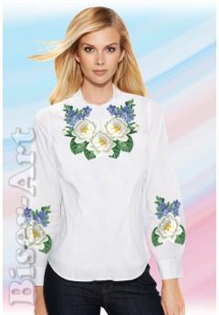 Заготовка вишиванки Жіночої Сорочки для вишивки бісером(вишивки хрестиком) ЛБ (SZ86)