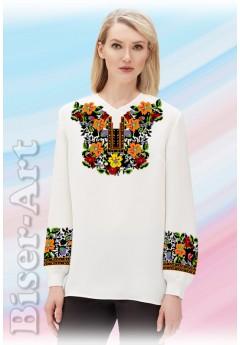 Заготовка вишиванки Жіночої Сорочки для вишивки бісером(вишивки хрестиком) ЛБ (SZ88)
