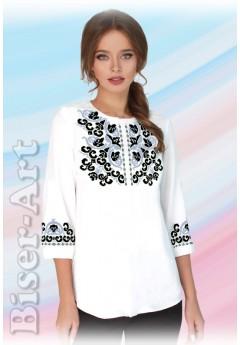 Заготовка вишиванки Жіночої Сорочки для вишивки бісером(вишивки хрестиком) ЛБ (SZ91)
