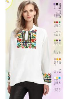 Заготовка вишиванки Жіночої Сорочки для вишивки бісером(вишивки хрестиком) ЛБ (SZ92)