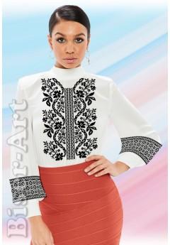 Заготовка вишиванки Жіночої Сорочки для вишивки бісером(вишивки хрестиком) ЛБ (SZ93)