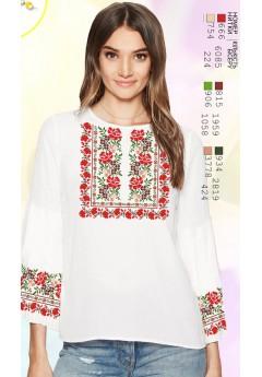 Заготовка вишиванки Жіночої Сорочки для вишивки бісером(вишивки хрестиком) ЛБ (SZ94)