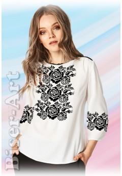 Заготовка вишиванки Жіночої Сорочки для вишивки бісером(вишивки хрестиком) ЛБ (SZ97)