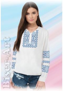 Заготовка вишиванки Жіночої Сорочки для вишивки бісером(вишивки хрестиком) ЛБ (SZ98)