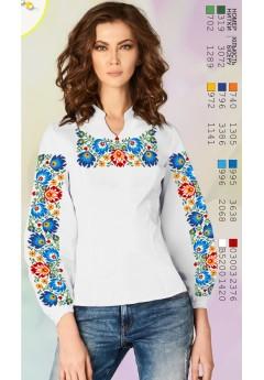 Заготовка вишиванки Жіночої Сорочки для вишивки бісером(вишивки хрестиком) ЛБ (SZ99)